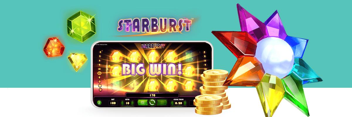 Starburst slot big win logo
