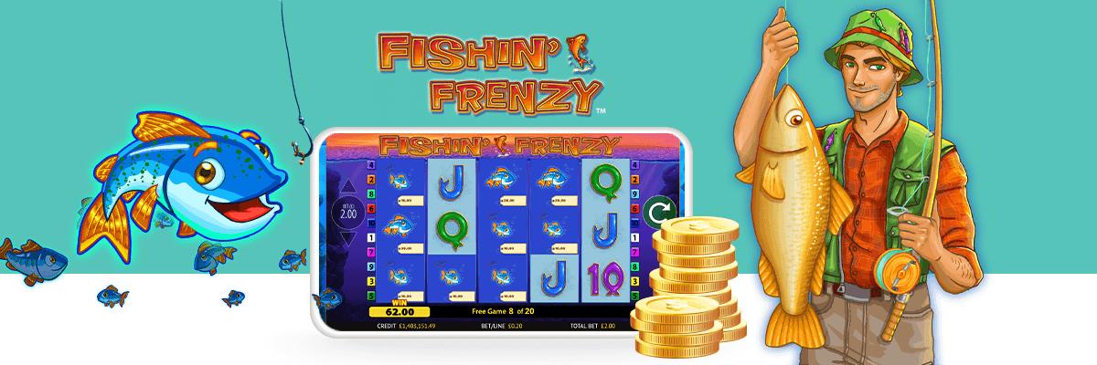 Fishin'Frenzy Slot