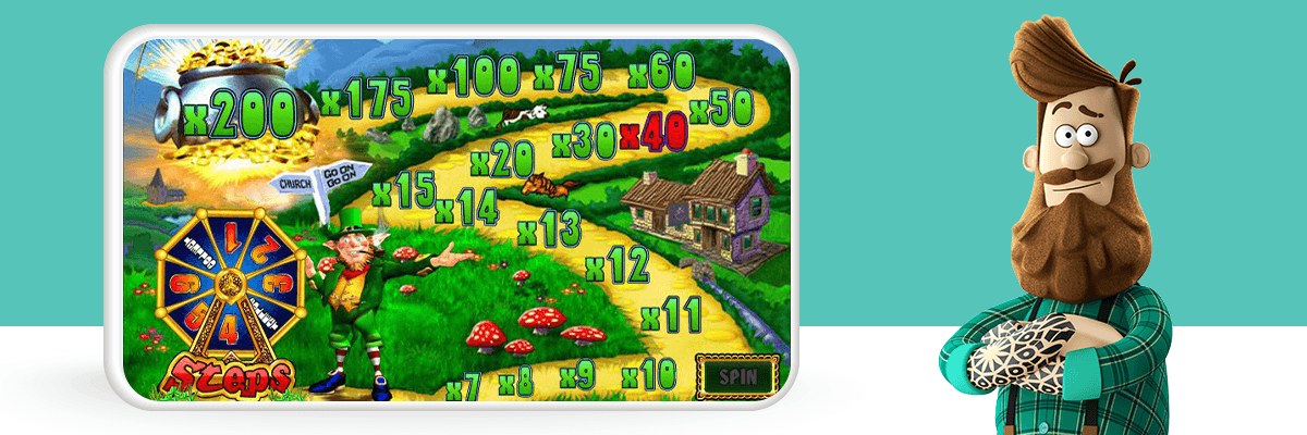 Rainbow Riches slot dashboard