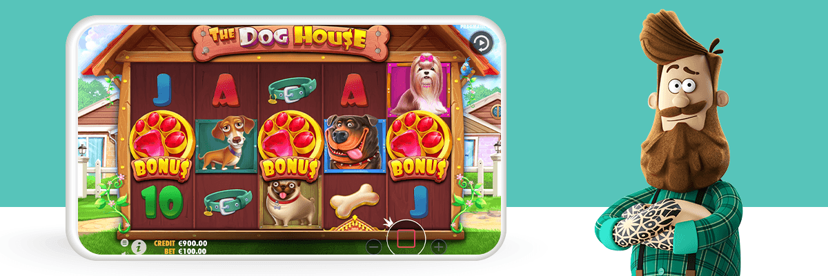The dog house slot dashboard